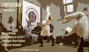Capoeira Angola Workshop in Jena 7.-9.2.2014
